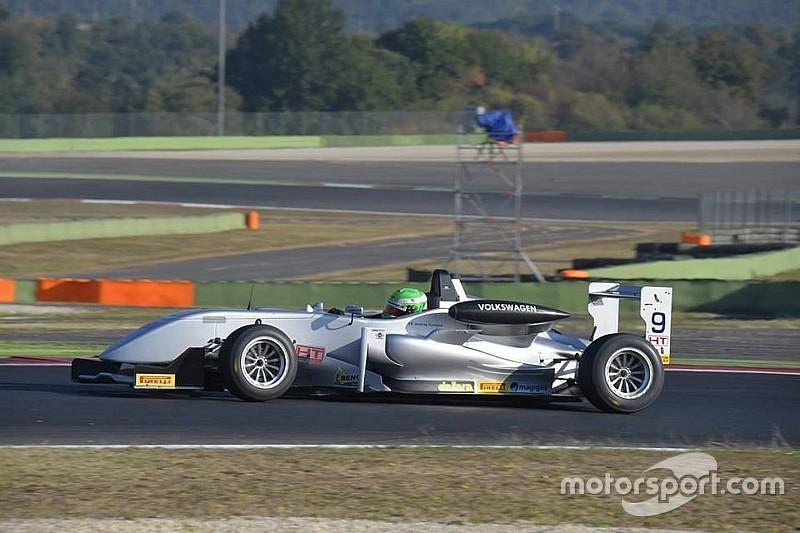 F2 Italian Trophy: Andrea Fontana centra la pole a Vallelunga