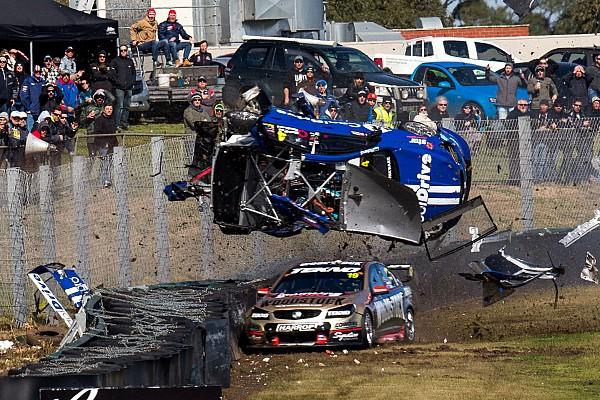 Supercars Campbell says he could see monster Sandown shunt coming