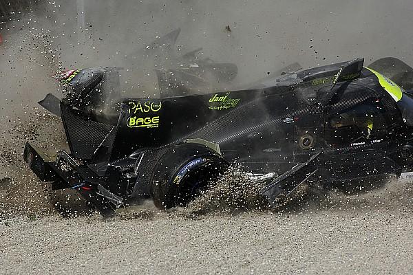 Фото: крупная авария на тестах ELMS в Монце