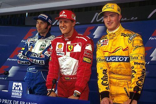 Vor 20 Jahren: Erstmals 3 deutsche F1-Piloten auf den Startplätzen 1 bis 3