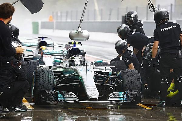 Formula 1 Monza'da pitlerin en hızlısı Mercedes oldu