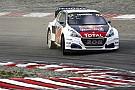 World Rallycross Le week-end pas si paradisiaque de Peugeot-Hansen à Hell