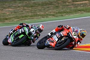 Superbike-WM Rennbericht Superbike-WM Aragon: Chaz Davies beendet Siegesserie von Jonathan Rea