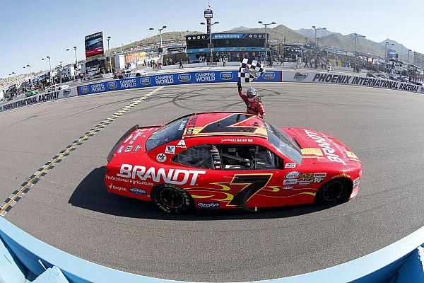 NASCAR XFINITY Race report Allgaier ends Xfinity Series winless streak with Phoenix victory