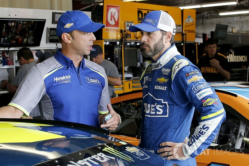 Jimmie Johnson's takeaways from Chicagoland NASCAR test