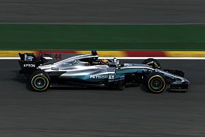 Formel 1 Trainingsbericht Formel 1 2017 in Spa: Mercedes-Pilot Hamilton mit Freitagsbestzeit