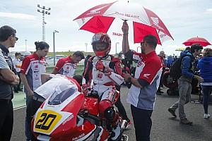 CEV Breaking news Dimas akui kesulitan saat balapan CEV Moto2