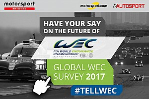 WEC Motorsport.com nieuws FIA WEC presenteert resultaten wereldwijd fanonderzoek