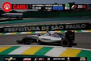 FORMULA 1 LİGİ Son dakika 2017 Brezilya GP Sanal Turnuva: Canlı Yayın