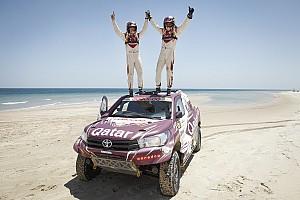 Cross-Country Rally Reporte de la carrera Al Attiyah y Sunderland se imponen en Qatar