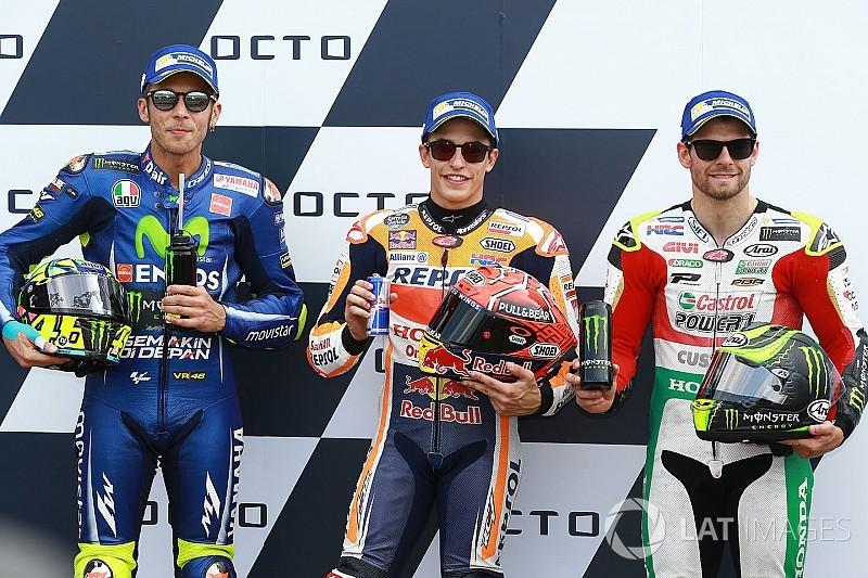Starting grid MotoGP Inggris 2017