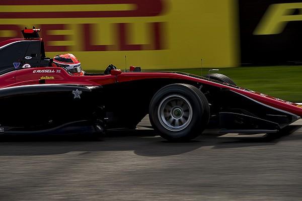 Лидер сезона GP3 Расселл выиграл субботнюю гонку в Спа