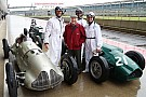 Retro Webber en Brundle in actie in historische F1-bolides