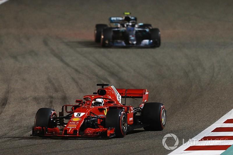 """Ricciardo aurait au moins """"tenté"""" de doubler Vettel"""