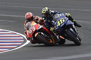 MotoGP Noticias Rossi incendia las redes con un post contra Márquez