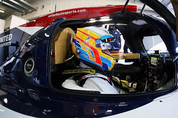 Alonso tuntaskan tes LMP2 pertama