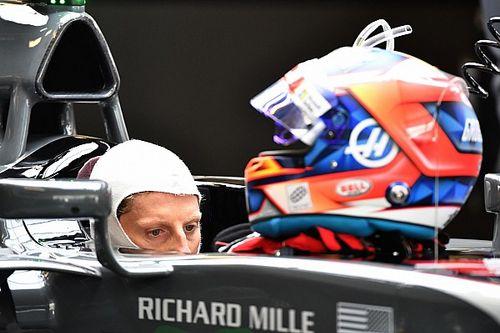 Grosjean mostra seu capacete para a temporada 2018