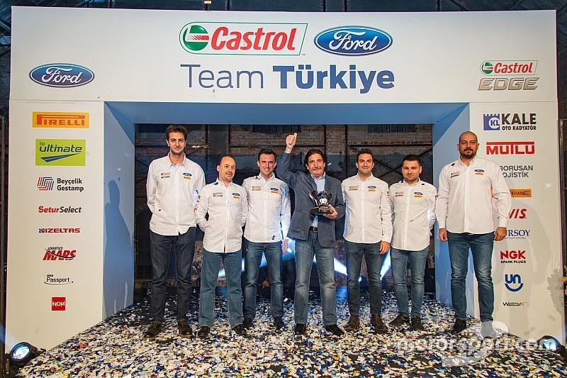 Avrupa Şampiyonu Castrol Ford Team Türkiye, zaferini kutladı