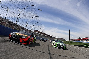 NASCAR Cup Race report Martin Truex Jr. wins Stage 1 at Fontana as Harvick wrecks