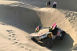 Dakar Stage report Dakar 2018, Stage 5: Loeb out as Peterhansel extends lead