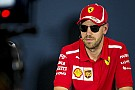 """Vettel vê banimento de grid girls como """"desnecessário"""""""