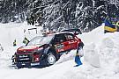 WRC Невилль сохранил лидерство в Швеции, Брин пробился на второе место