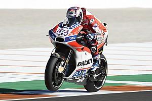 MotoGP Breaking news Dovizioso admits Friday speed