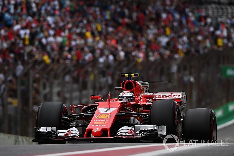 """Raikkonen se alegra com top-3: """"melhoramos o carro hoje"""""""