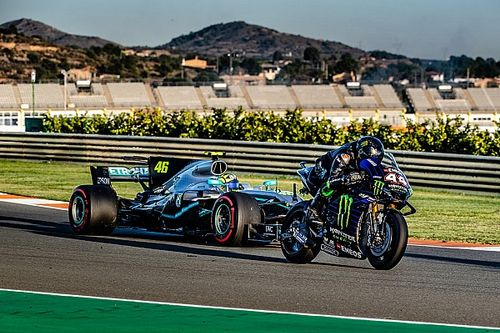 """Valentino Rossi: """"La F1 a changé, je ne voulais plus sortir de la voiture"""""""