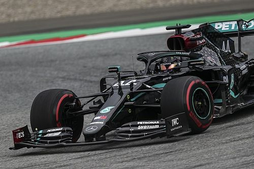 Austrian GP: Hamilton leads Bottas again in FP2