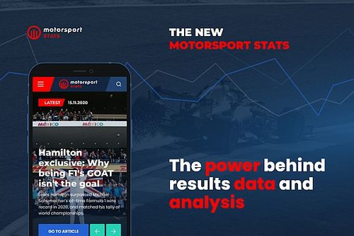 Motorsport Stats relaunches with new look and features