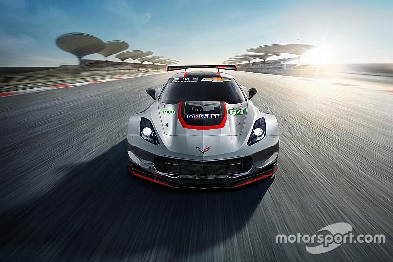 Chevrolet: la Corvette C7.R correrà a Shanghai con la livrea Redline e sarà tutta argentata