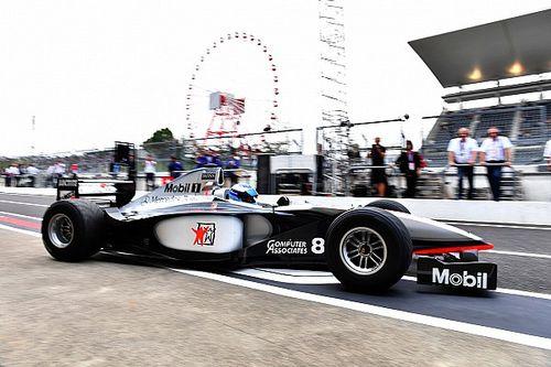 Häkkinen a repris le volant de la McLaren MP4/13