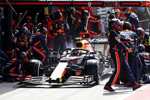 Red Bull a signé l'arrêt au stand le plus rapide de l'Histoire