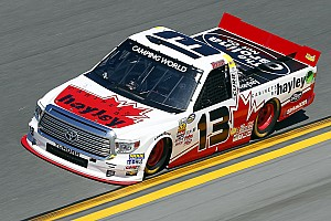 NASCAR Truck Race report Disappointing race for Calgary's Cameron Healey in Daytona
