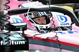 نيكيتا مازيبين أوّل من يقود سيارة فورس إنديا في تجارب برشلونة