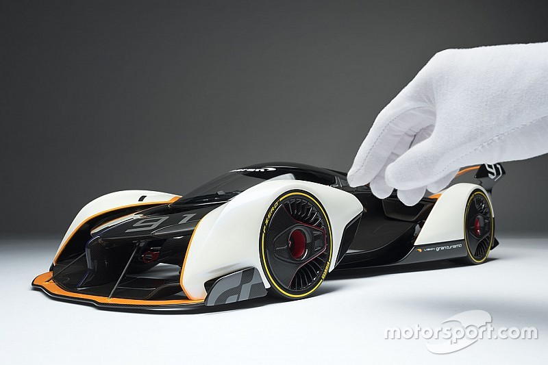 Amalgam turns virtual McLaren Ultimate Vision GT into reality