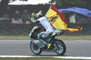 Moto3 Breaking news MotoGP stars hail