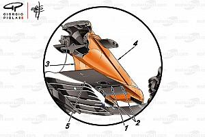 Formel 1 Analyse Formel-1-Technik: So funktioniert die neue McLaren-Nase