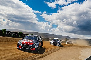 World Rallycross Qualifying report Portugal World RX: Loeb leads Hansen after Day 1