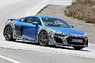 Automotive Spied Audi R8 with oval exhaust could be GT model
