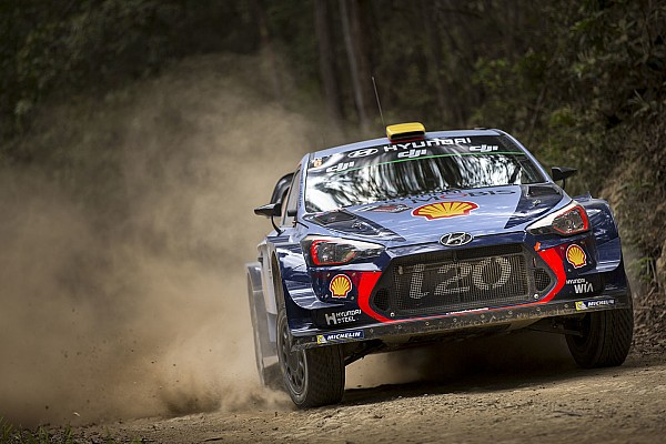 Hyundai: Teilzeitprogramm für Paddon und Sordo in der WRC 2018