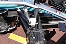 Mercedes: più angolo di sterzo nella sospensione anteriore