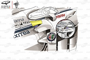 Формула 1 Аналитика Технический анализ: обновления Sauber, которые вы могли не заметить