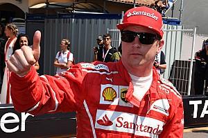 Fórmula 1 Últimas notícias Raikkonen comemora pole, mas foca em corrida