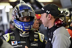NASCAR Cup Special feature Jimmie Johnson hopes Chad Knaus stays with him at Hendrick