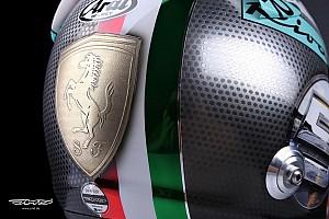 Формула 1 Спеціальна можливість Спеціальний шолом Себастьяна Феттеля на Гран Прі Італії