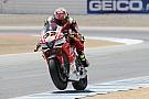 MotoGP WSBK-Fahrer Lorenzo Savadori testet in Misano MotoGP-Bike für Aprilia