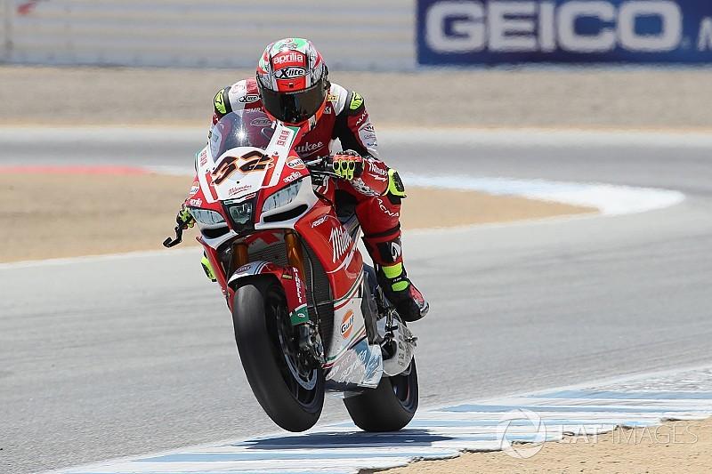 Aprilia, WSBK sürücüsü Savadori'yi MotoGP testine çıkaracak