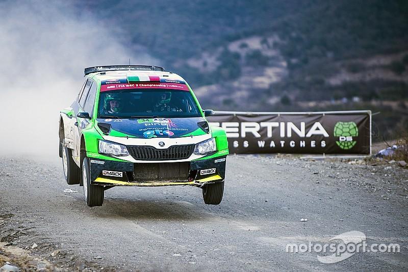 Benito Guerra logra podio en México en WRC2